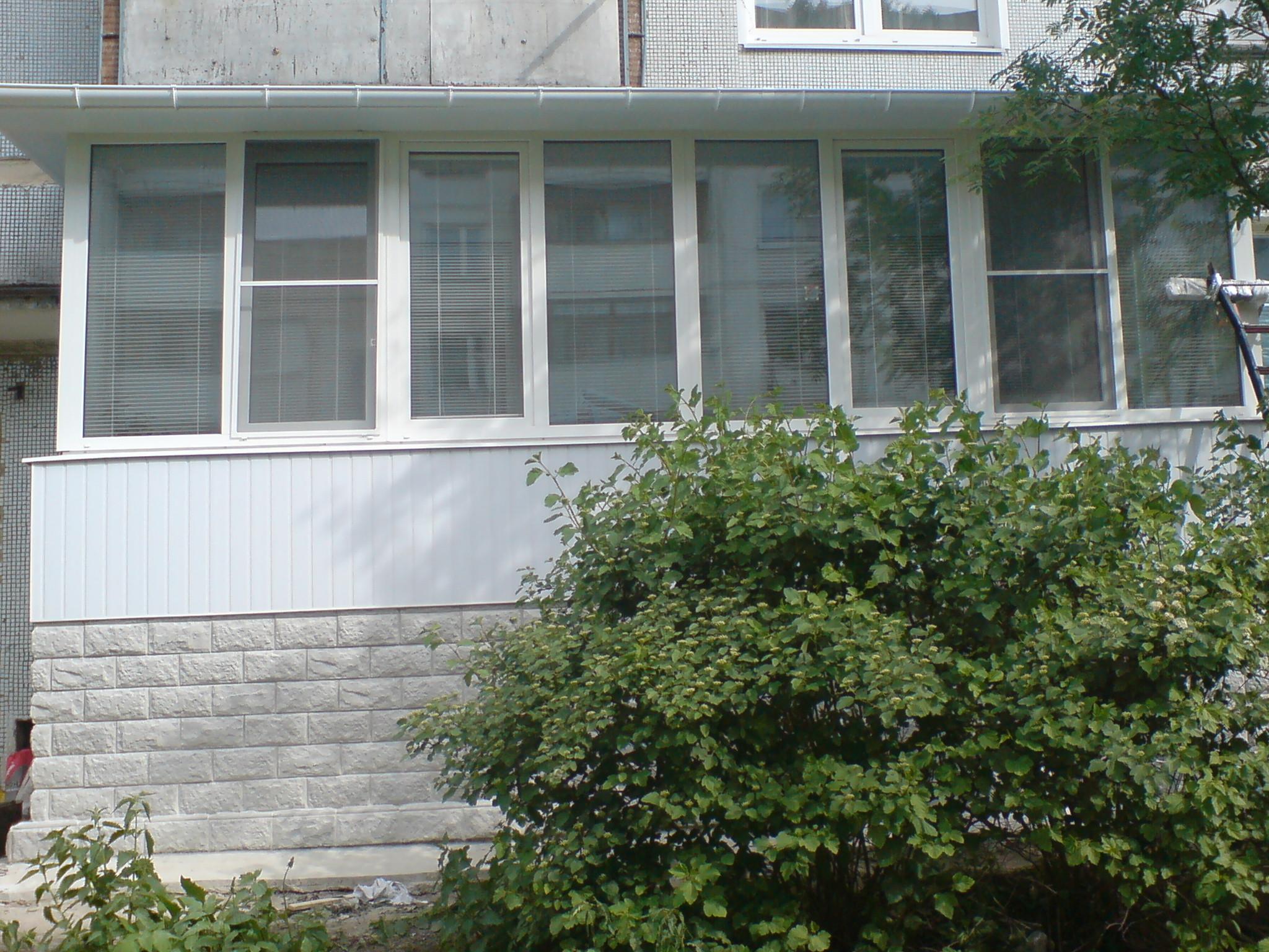 Детки! - пристроить балкон на первом этаже - кто делал?.